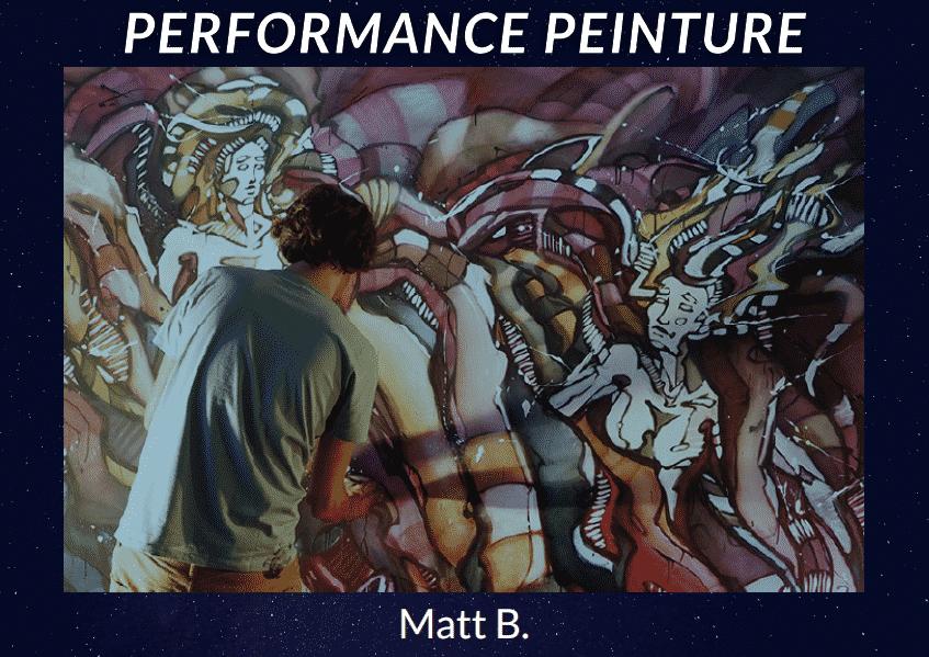 Parole Production - Performance Peinture Live