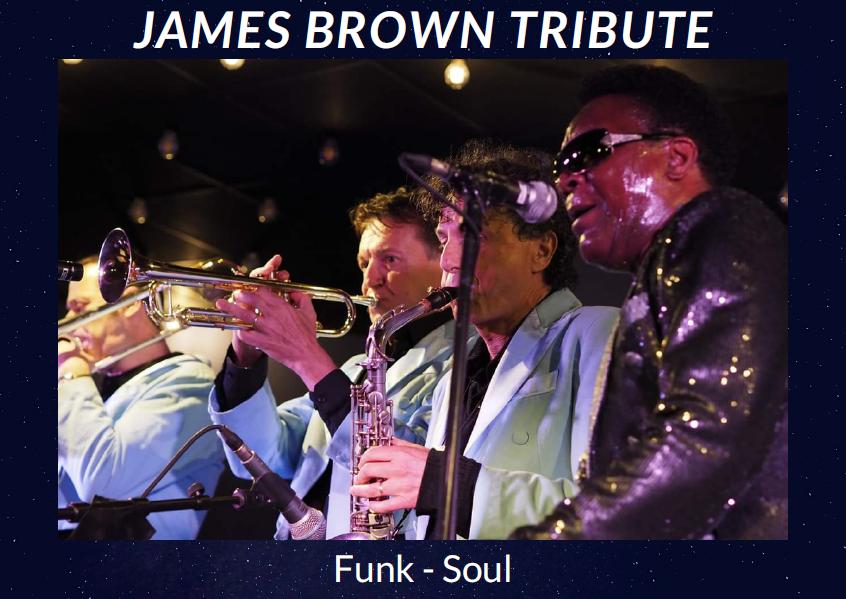 Parole Production - The James Brown Tribute Show