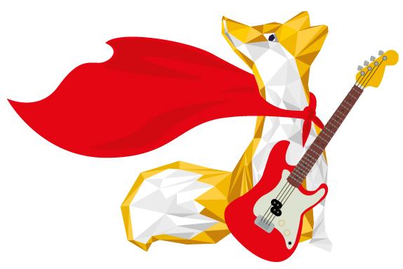 Pourquoi le logo de Parole Production est un renard avec une cape de super héros ?