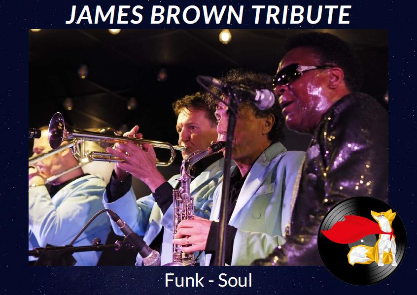 The JAMES BROWN Tribute SHOW – Allan Adote